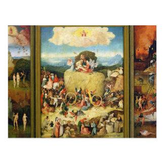 Haywain, 1515 carte postale