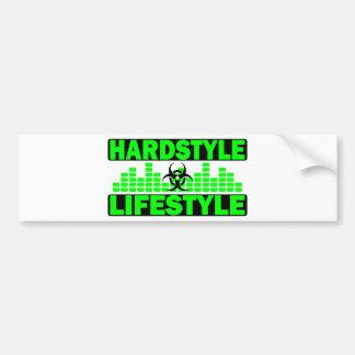 Hazzard de mode de vie de Hardstyle et conception  Autocollant De Voiture