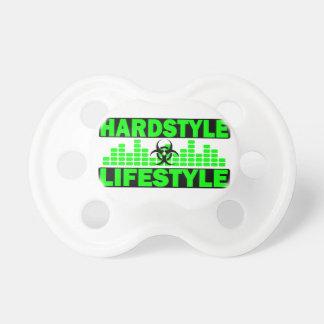 Hazzard de mode de vie de Hardstyle et conception  Tétine