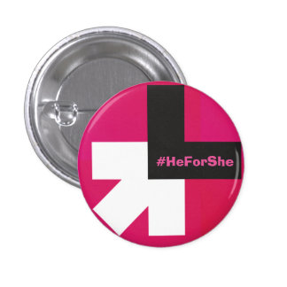 He for she bouton badge