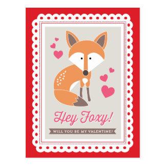 Hé rusé ! par la carte postale de Valentine d'impr