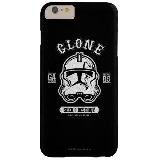 Headshot de soldat de la cavalerie de clone coque iPhone 6 plus barely there