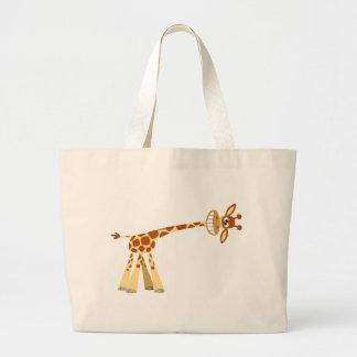 Hee Hee Hee ! ! sac de girafe de bande dessinée