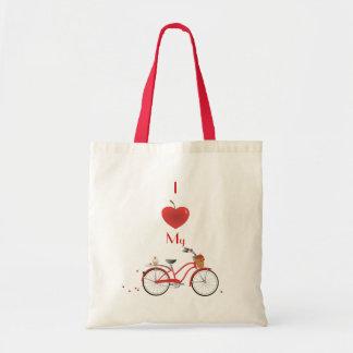 Heitres bicyclette de kirsch sacs