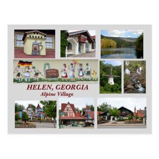 Hélène. Carte postale de la Géorgie