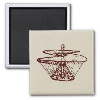 hélice magnet carré