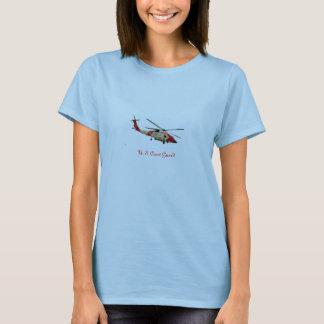 Hélicoptère de la garde côtière, la garde côtière t-shirt