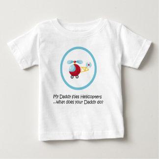 Hélicoptère de papa t-shirt pour bébé