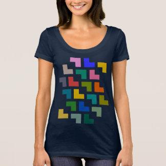 Helpy/prochain T-shirt de niveau de cou scoop des