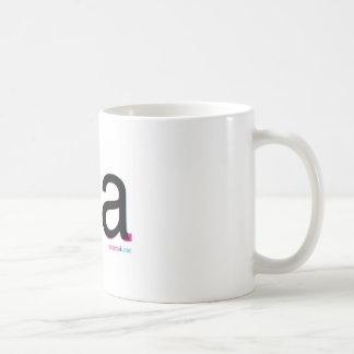 helvetica contre le thé arial mug