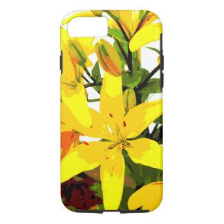 Hémérocalle jaune - coque iphone de fleurs