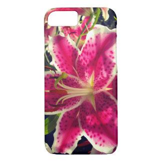 Hémérocalle rose coque iPhone 7