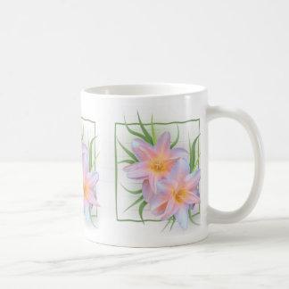 Hémérocalles roses mug