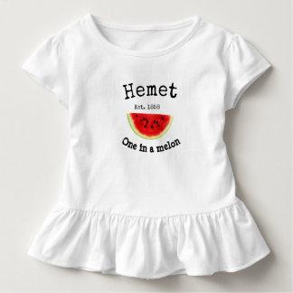 """Hemet la Californie """"une chemise dans melon"""" pour T-shirt Pour Les Tous Petits"""