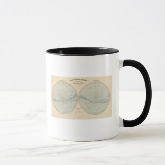 Hémisphère de Celeste de Planisphere Mug