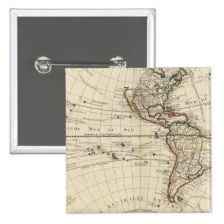 Hémisphère de l'ouest 10 pin's