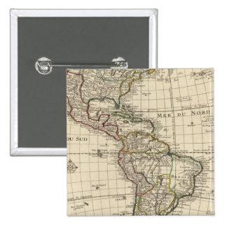 Hémisphère de l'ouest 2 badge
