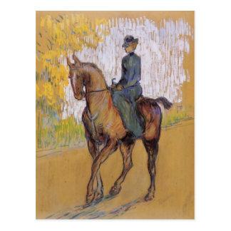 Henri De Toulouse-Lautrec Amazone Carte Postale