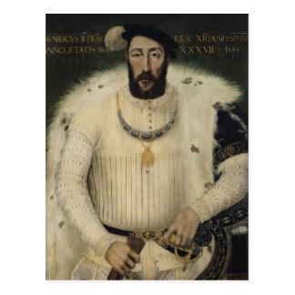 Henri II, roi de la France, 1555 Carte Postale