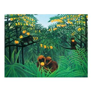 Henri Rousseau la carte postale de tropiques