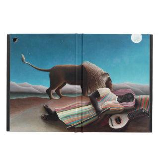 Henri Rousseau le cru gitan de sommeil Coque iPad Air