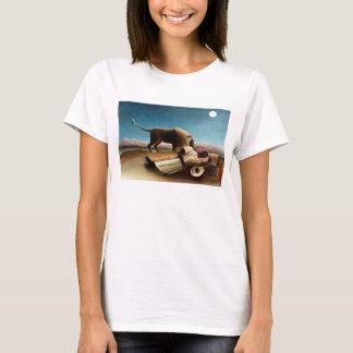 Henri Rousseau le T-shirt gitan de sommeil