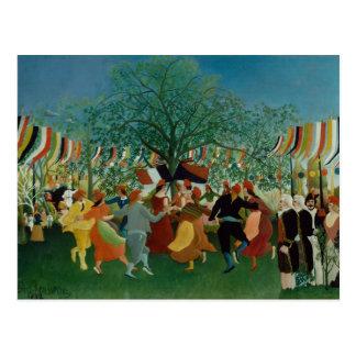 Henri Rousseau - un Centennial de l'indépendance Carte Postale