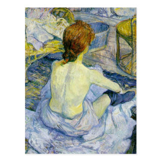 Henri Toulouse Lautrec - la CHROMATOGRAPHIE Carte Postale
