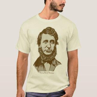 Henry David Thoreau a personnalisé le T-shirt de