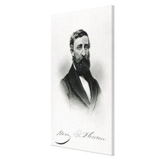 Henry David Thoreau Toiles Tendues