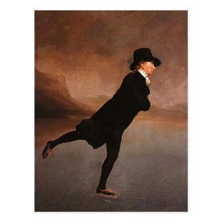 Henry Raeburn- le ministre de patinage Carte Postale