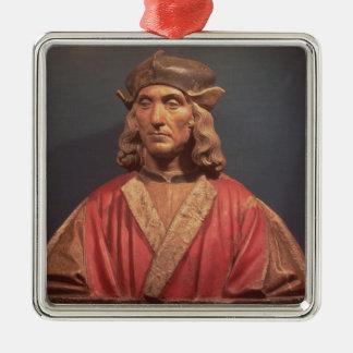 Henry VII, 1509-11 Ornement Carré Argenté