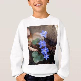 Hepatica commun (nobilis de Hepatica) Sweatshirt