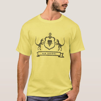 Héraldique de dinosaure - T-shirt