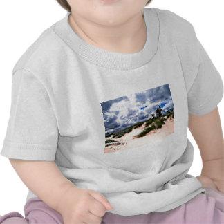 Herbe de dune de plage sablonneuse t-shirts