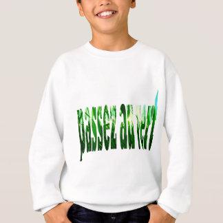 Herbe passez au vert sweatshirt