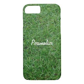 Herbe verte d'été, yard, photo de la pelouse 099 coque iPhone 7