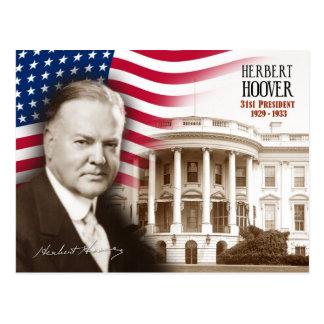 Herbert Hoover - 31ème président des États-Unis Carte Postale