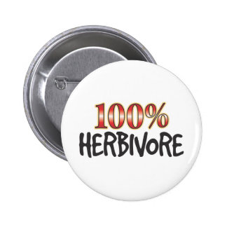 Herbivore 100 pour cent pin's