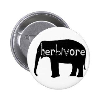 Herbivore - éléphant badge