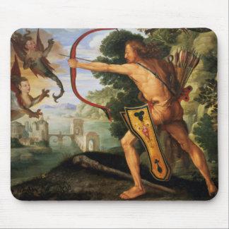 Hercule et les oiseaux de Stymphalian, 1600 Tapis De Souris