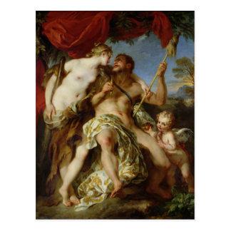 Hercule et Omphale, 1724 Carte Postale
