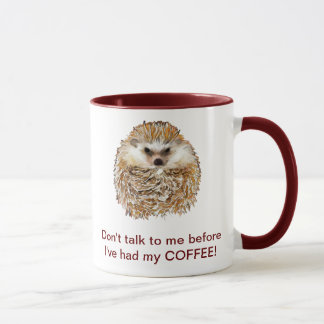 Hérisson de café mugs