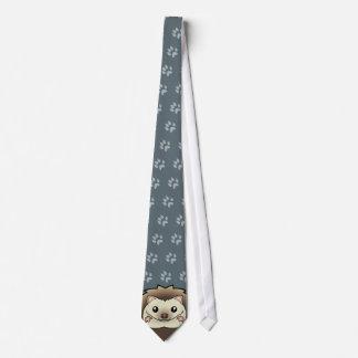 Hérisson de pygmée de bande dessinée cravates
