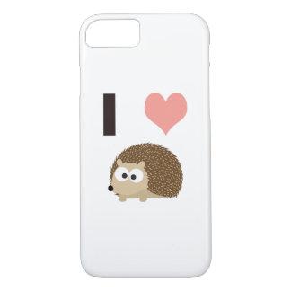 Hérisson mignon du coeur I Coque iPhone 7