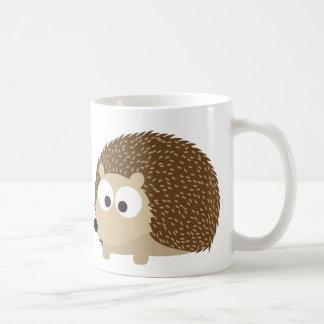 hérisson mug blanc