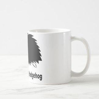 Hérisson - respectez le hérisson tasse à café