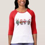 Hérissons de Noël T-shirt
