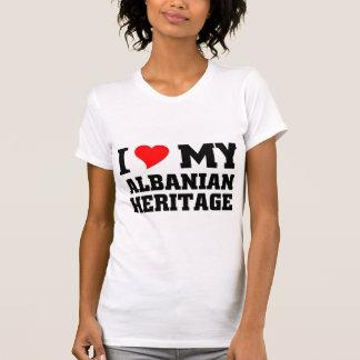 Héritage albanais t-shirts