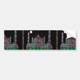 Héritage d'architecture du Taj Mahal Moghul Autocollant De Voiture